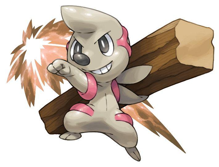 Timburr - Pokémon