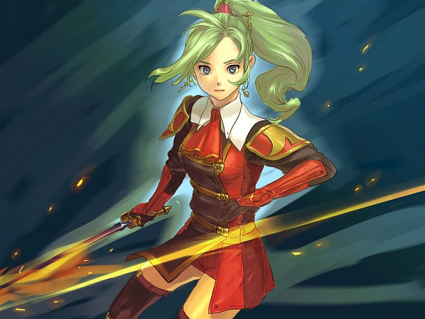 Tags: Anime, Final Fantasy VI, Tina Branford, Red Mage, Terra Branford
