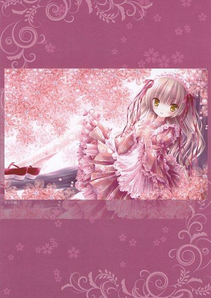 Tags: Anime, Tinkerbell, Tinkle, Blu Cielo Stellato, Wa Lolita, Lolita Headband, Scan, Mobile Wallpaper
