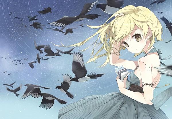 Tags: Anime, Tiv, Gray Dress, Gray Outfit, Pixiv, Original