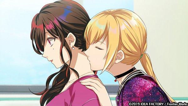 Tags: Anime, Sarachi Yomi, Otomate, IDEA FACTORY, Tlicolity Eyes, Touchi Aoi, Sakakibara Yuu, Surprise Kiss, Kiss On The Neck, CG Art, Official Art