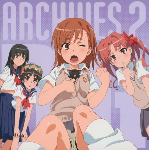 Tags: Anime, J.C.STAFF, To Aru Kagaku no Railgun, To Aru Majutsu no Index, Misaka Mikoto, Saten Ruiko, Uiharu Kazari, Shirai Kuroko, Loose Footwear, A Certain Scientific Railgun