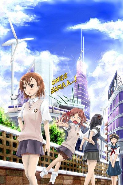 Tags: Anime, Pixiv Id 5390339, To Aru Kagaku no Railgun, To Aru Majutsu no Index, Uiharu Kazari, Shirai Kuroko, Misaka Mikoto, Konori Mii, A Certain Scientific Railgun