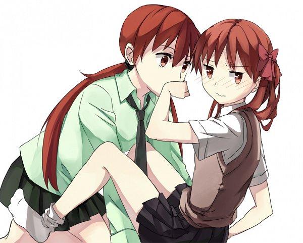 Tags: Anime, Pixiv Id 2214043, To Aru Majutsu no Index, To Aru Kagaku no Railgun, Musujime Awaki, Shirai Kuroko, A Certain Scientific Railgun