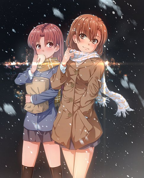Tags: Anime, Isshi Pyuuma, To Aru Majutsu no Index, To Aru Kagaku no Railgun, Shirai Kuroko, Misaka Mikoto, A Certain Scientific Railgun