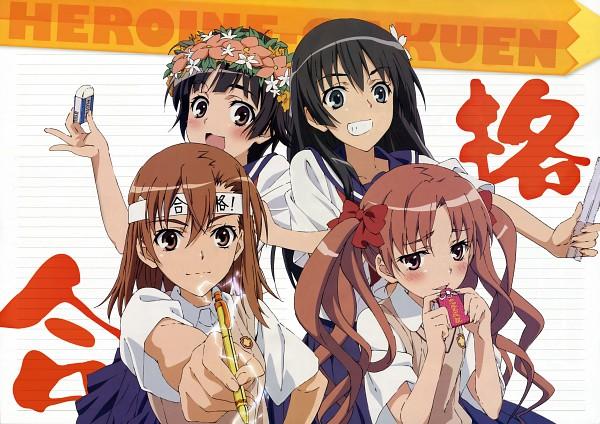 Tags: Anime, Sano Keiichi, J.C.STAFF, To Aru Majutsu no Index, To Aru Kagaku no Railgun, Misaka Mikoto, Saten Ruiko, Uiharu Kazari, Shirai Kuroko, Detexted, A Certain Scientific Railgun