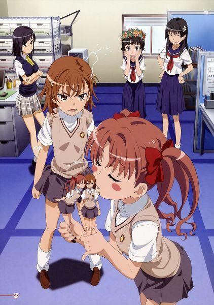 Tags: Anime, To Aru Majutsu no Index, To Aru Kagaku no Railgun, Shirai Kuroko, Konori Mii, Misaka Mikoto, Saten Ruiko, Uiharu Kazari, Mobile Wallpaper, Artist Request, A Certain Scientific Railgun