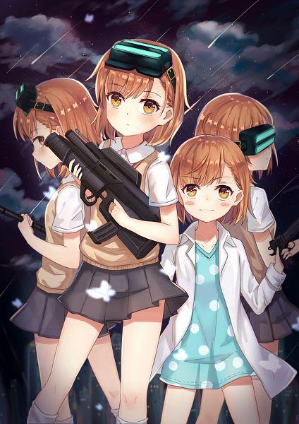 Tags: Anime, Pixiv Id 12396885, To Aru Majutsu no Index, Misaka Imouto, Last Order, Fanart, Mobile Wallpaper, A Certain Magical Index
