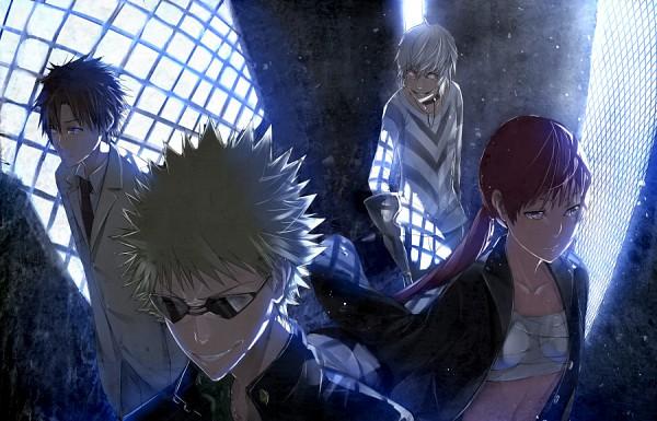 Tags: Anime, A.Q.U.A., To Aru Majutsu no Index, Tsuchimikado Motoharu, Accelerator, Kamijou Touma, Musujime Awaki, Pixiv, A Certain Magical Index