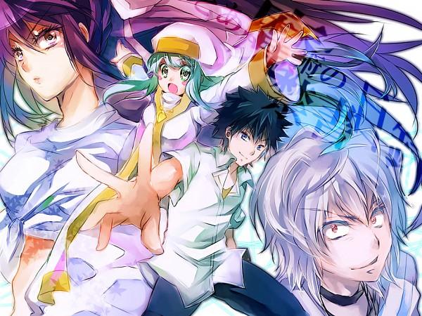 Tags: Anime, Erika913 (Artist), To Aru Majutsu no Index, Kanzaki Kaori, Index, Accelerator, Kamijou Touma, Pixiv, A Certain Magical Index