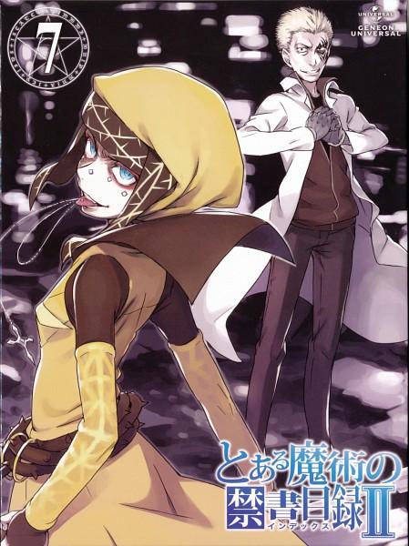 Tags: Anime, Haimura Kiyotaka, To Aru Majutsu no Index, Official Art, Scan, DVD (Source), A Certain Magical Index
