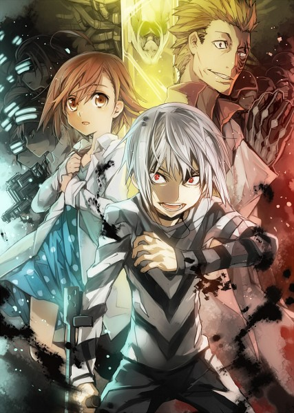 Tags: Anime, BUNBUN, To Aru Majutsu no Index, Accelerator, Last Order, Amata Kihara, Misaka Imouto, Mobile Wallpaper, Pixiv, A Certain Magical Index