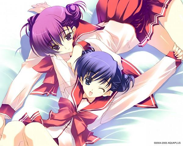 Tags: Anime, Suzuhira Hiro, Leaf (Studio), To Heart 2, Himeyuri Ruri, Himeyuri Sango