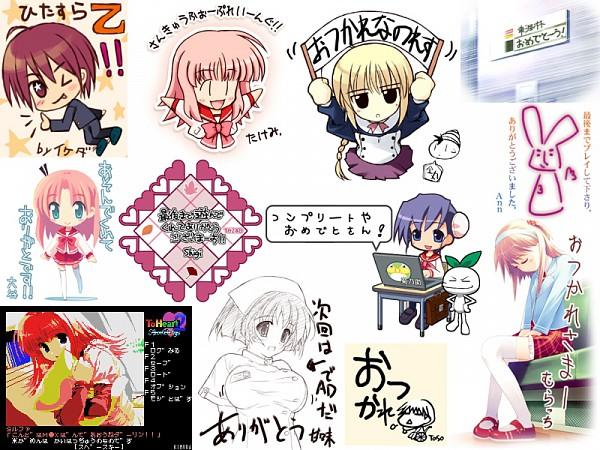 Tags: Anime, Leaf (Studio), To Heart 2, Kouno Harumi, Kousaka Yuuji, Asagiri Maako, Silfa (To Heart 2), Himeyuri Sango, Nanako (To Heart 2), Character Request