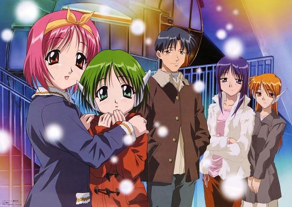 Tags: Anime, AQUAPLUS, To Heart, Multi, Serio (To Heart), Hiroyuki Fujita, Kamigishi Akari, Kurusugawa Ayaka, Official Art, Scan