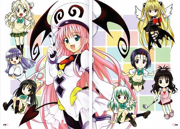 Tags: Anime, To LOVE-Ru, Yuuki Mikan, Run Elsie Jewelria, Sairenji Haruna, Murasame Oshizu, Lala Satalin Deviluke, Kotegawa Yui, Konjiki no Yami, Tenjouin Saki, Sairen