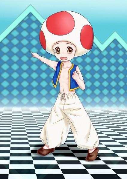 Toad - Super Mario Bros.