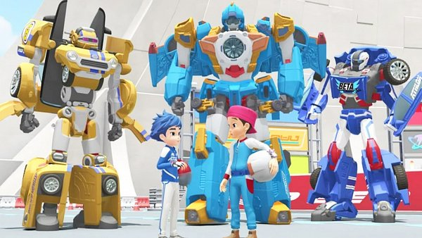 Tags: Anime, Tobot X And Y, Screenshot, Wallpaper