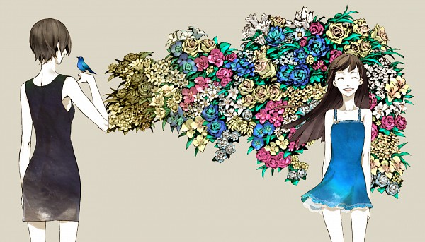 Tags: Anime, Miwa Shirow, Supercell, Pixiv, Original, Today Is A Beautiful Day, Wallpaper