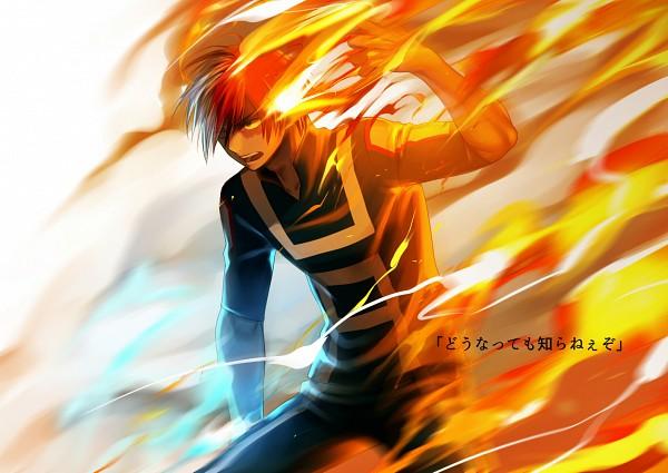Tags: Anime, Arkray, Boku no Hero Academia, Todoroki Shouto, Pixiv, Fanart, Fanart From Pixiv