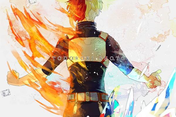 Tags: Anime, Pixiv Id 1323231, Boku no Hero Academia, Todoroki Shouto, Fanart From Pixiv, PNG Conversion, Pixiv, Fanart