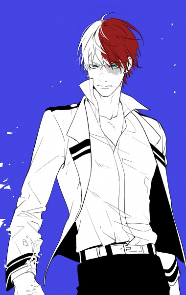 Tags: Anime, niro (Pixiv8537417), Boku no Hero Academia, Todoroki Shouto, Mobile Wallpaper, PNG Conversion, Pixiv, Fanart, Fanart From Pixiv