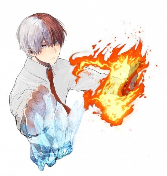 Tags: Anime, Pixiv Id 7099916, Boku no Hero Academia, Todoroki Shouto, Pixiv, Fanart, Fanart From Pixiv, PNG Conversion