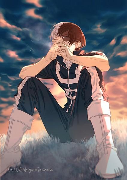 Tags: Anime, Haitori, Boku no Hero Academia, Todoroki Shouto, Fanart From Pixiv, Pixiv, Fanart