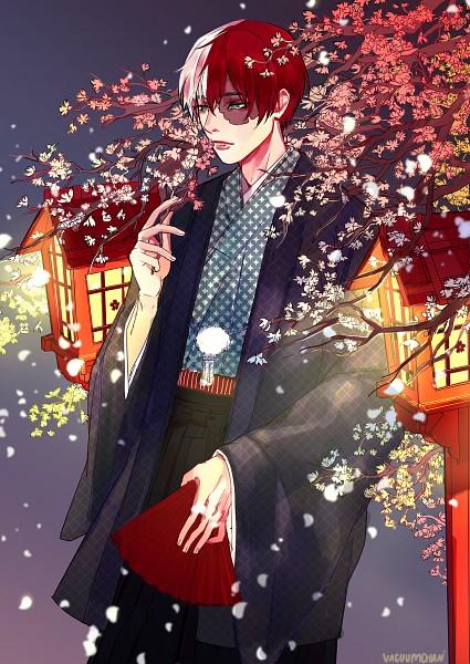 Tags: Anime, Vacuum (Artist), Boku no Hero Academia, Todoroki Shouto, Fanart, Tumblr