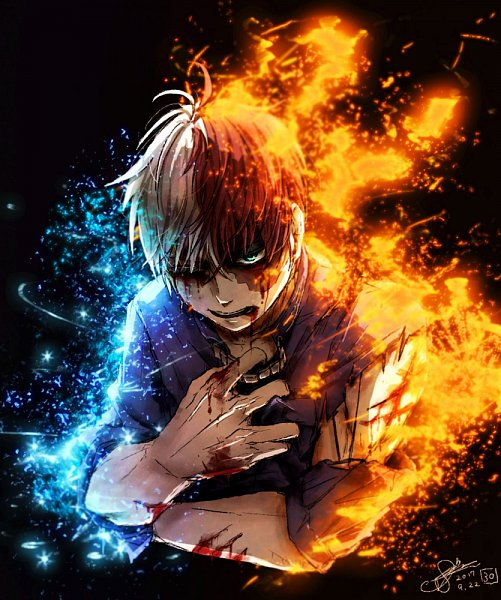 Tags: Anime, Pixiv Id 12661636, Boku no Hero Academia, Todoroki Shouto