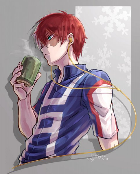 Tags: Anime, Pixiv Id 12661636, Boku no Hero Academia, Todoroki Shouto, Fanart From Pixiv, Pixiv, Fanart