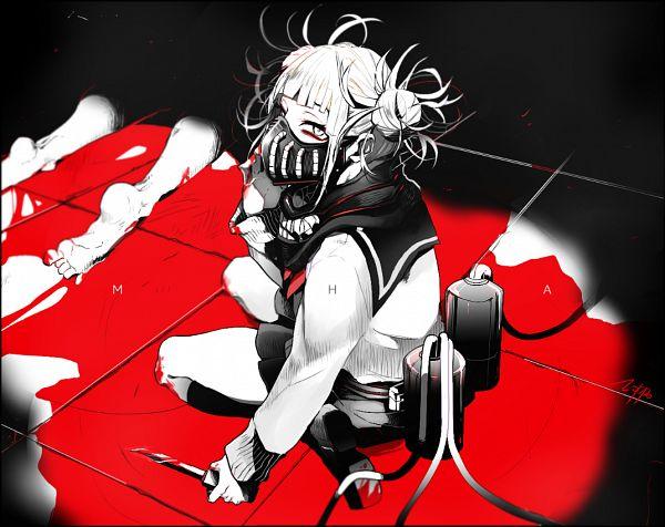 Tags: Anime, Noppo, Boku no Hero Academia, Toga Himiko, Blood On Weapons, Fanart From Pixiv, Pixiv, Fanart