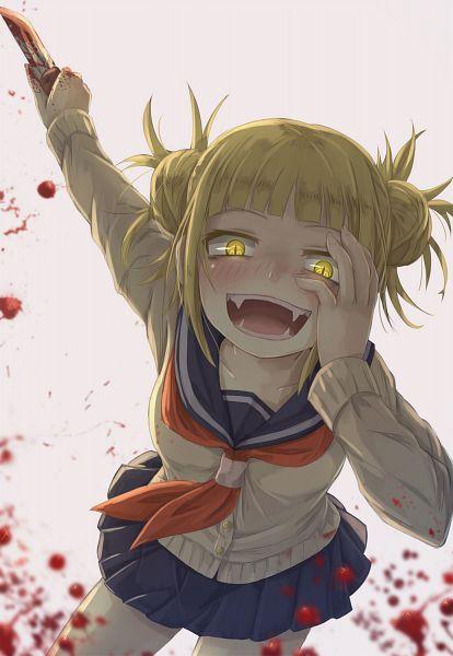 Tags: Anime, HikariNiji, Boku no Hero Academia, Toga Himiko