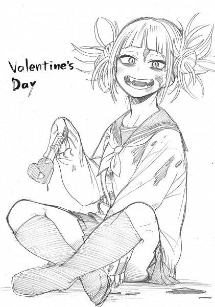 Tags: Anime, Horikoshi Kouhei, Boku no Hero Academia, Toga Himiko, Official Art