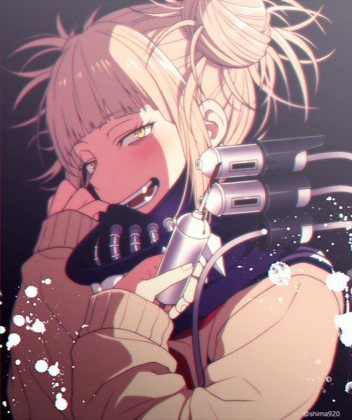 Tags: Anime, Mashima Shima, Boku no Hero Academia, Toga Himiko, Twitter