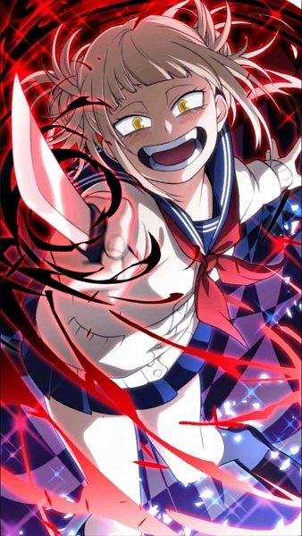 Tags: Anime, Boku no Hero Academia, Boku no Hero Academia Smash Tap, Toga Himiko, Official Art