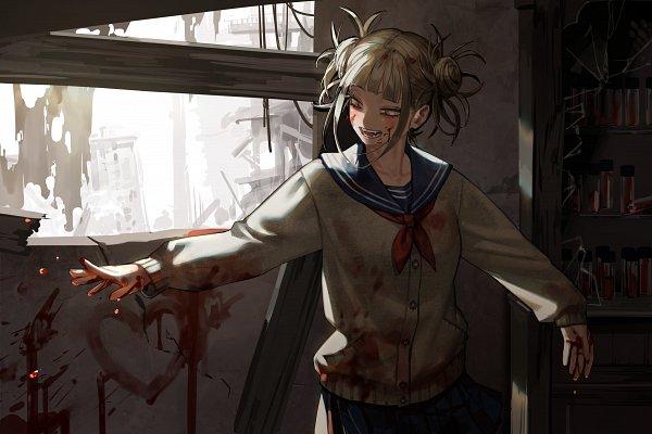 Tags: Anime, Byeolmu, Boku no Hero Academia, Toga Himiko, Fanart