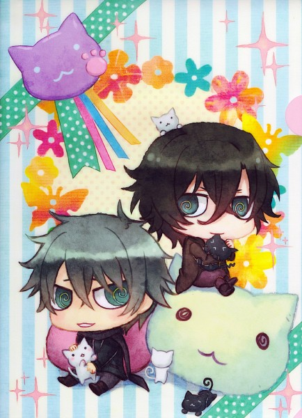 Tags: Anime, Togainu no Chi, Nano (TNC), Shiki (TNC), Akira (TNC), Mobile Wallpaper, Blood Of The Reprimanded Dog