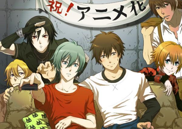 Tags: Anime, Nitro+CHiRAL, Togainu no Chi, Nano (TNC), Akira (TNC), Keisuke (TNC), Motomi (TNC), Rin (TNC), Shiki (TNC), Blood Of The Reprimanded Dog