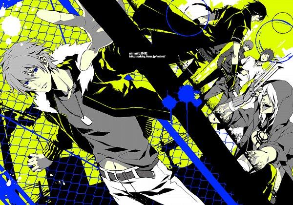 Tags: Anime, Fujino Akitsugu, Nitro+CHiRAL, Togainu no Chi, Keisuke (TNC), Gunji, Yukihito, Shiki (TNC), Akira (TNC), Fanart, Blood Of The Reprimanded Dog