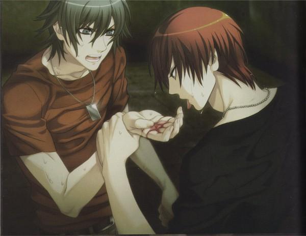 Tags: Anime, Nitro+CHiRAL, Togainu no Chi, Akira (TNC), Yukihito, CG Art, Blood Of The Reprimanded Dog