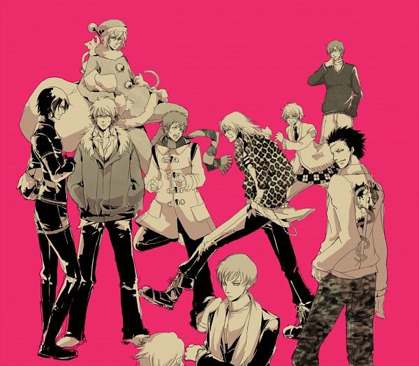 Tags: Anime, Nitro+CHiRAL, Togainu no Chi, Keisuke (TNC), Akira (TNC), Gunji, Nano, Nano (TNC), Rin (TNC), Kiriwar (TNC), Shiki (TNC), Blood Of The Reprimanded Dog