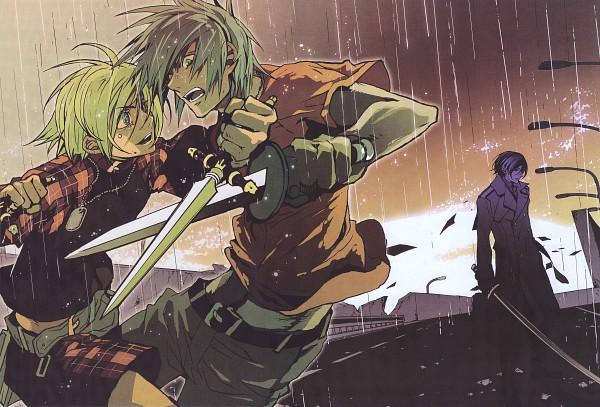 Tags: Anime, Nitro+CHiRAL, Chayamachi Chiral Works, Togainu no Chi, Akira (TNC), Rin (TNC), Shiki (TNC), Scan, Blood Of The Reprimanded Dog