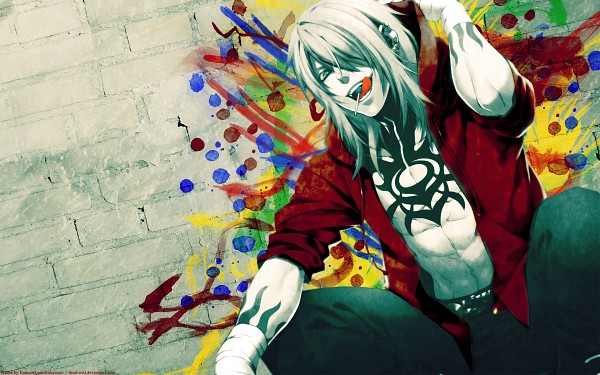 Tags: Anime, Togainu no Chi, Gunji, Wallpaper, Blood Of The Reprimanded Dog