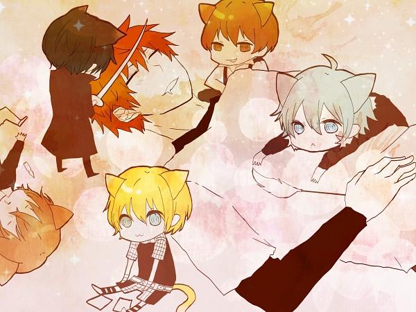Tags: Anime, Nitro+CHiRAL, Togainu no Chi, Rin (TNC), Shiki (TNC), Nano (TNC), Akira (TNC), Keisuke (TNC), Motomi (TNC), Pixiv, Blood Of The Reprimanded Dog