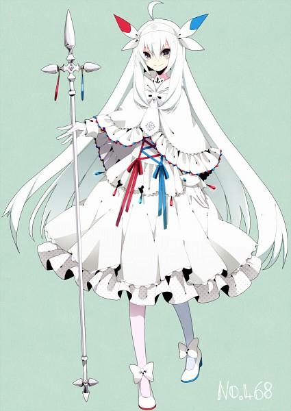 Tags: Anime, Fluorocarbon, Pokémon, Togekiss, Clergy, Shiro Lolita, Red Blue, Fanart, Mobile Wallpaper