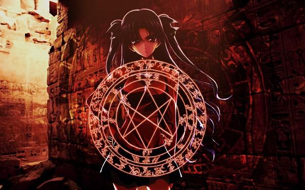 Tags: Anime, TYPE-MOON, Fate/stay night, Tohsaka Rin, Wallpaper, Rin Tohsaka