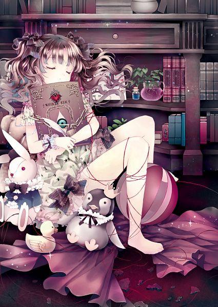 Tags: Anime, Blue Hallelujah, Fate/zero, Tohsaka Rin, Stationery, Quill Pen, Stuffed Penguin, Calendar (Object), Spellbook, Fanart From Pixiv, Pixiv, Mobile Wallpaper, Fanart, Rin Tohsaka