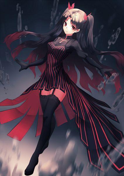 Tags: Anime, Pixiv Id 4704947, Fate/stay night, Tohsaka Rin, Mobile Wallpaper, Rin Tohsaka
