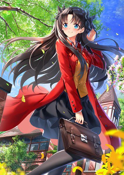 Tags: Anime, Swordsouls, Fate/stay night, Tohsaka Rin, Fanart, Fanart From Pixiv, Pixiv, Rin Tohsaka